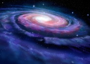 Spiral galaxy, illustration of Milky Way