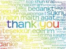 * THANK YOU * Card (thanks kindness gratitude message love) * ICH DANKE DIR VON GANZEM HERZEN *