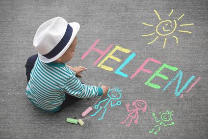 Kinderzeichnung - helfen!